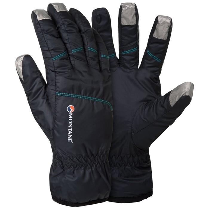 【Montane 英國】Prism Glove 保暖手套 保暖觸控手套 旅遊賞雪 冬季保暖 女款 黑色 (GFPRG)