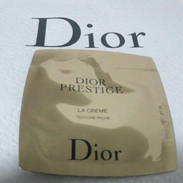 💋全新Dior專櫃正品🌟迪奧 精萃再生花蜜豐潤乳霜1ml✔試用包