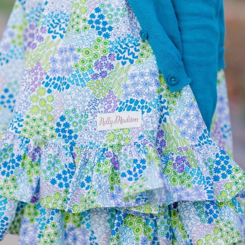 賣場可刷卡🌟薰衣草草地綁帶洋裝💯Nelly Madison hannah Dress