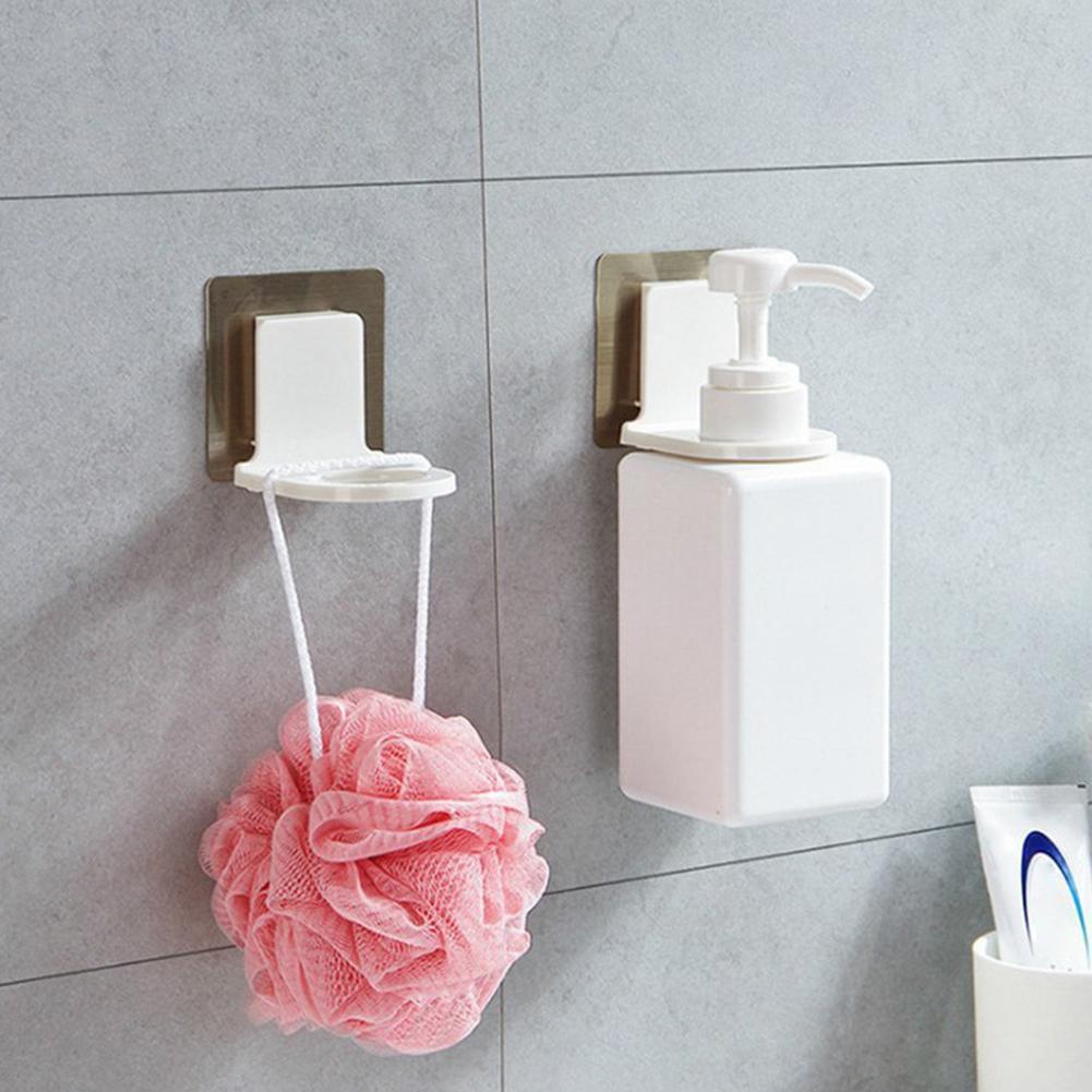 壁掛式免打孔架洗髮水架馬桶存儲浴室架子肥皂手 E7B4