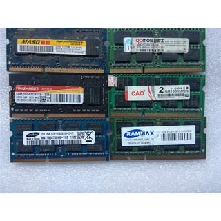 代購正品筆記型電腦記憶體條DDR3 2G 1066 4G 1333 1600 8G裝機原廠低壓標壓 桃園市