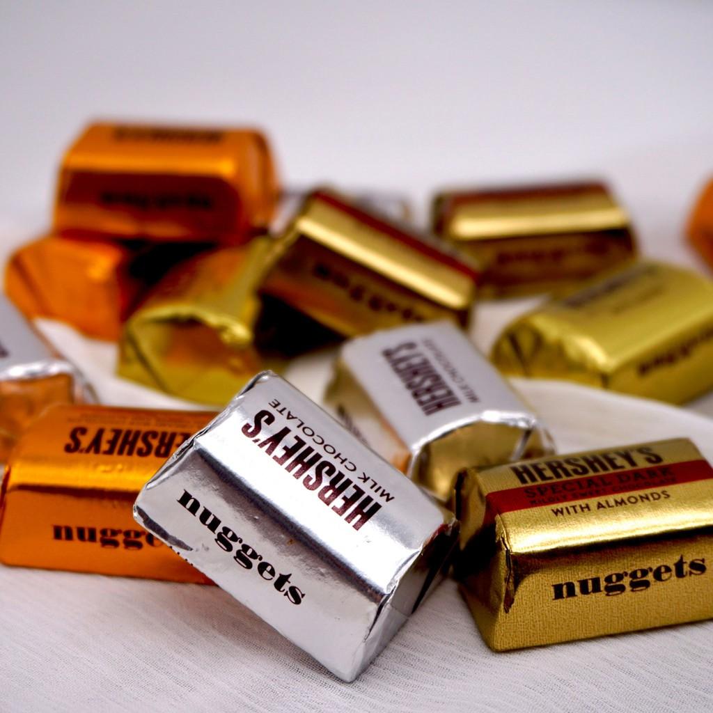 【嘴甜甜】賀喜磚型巧克力 Hershey's 200公克 巧克力系列 4種口味 素食