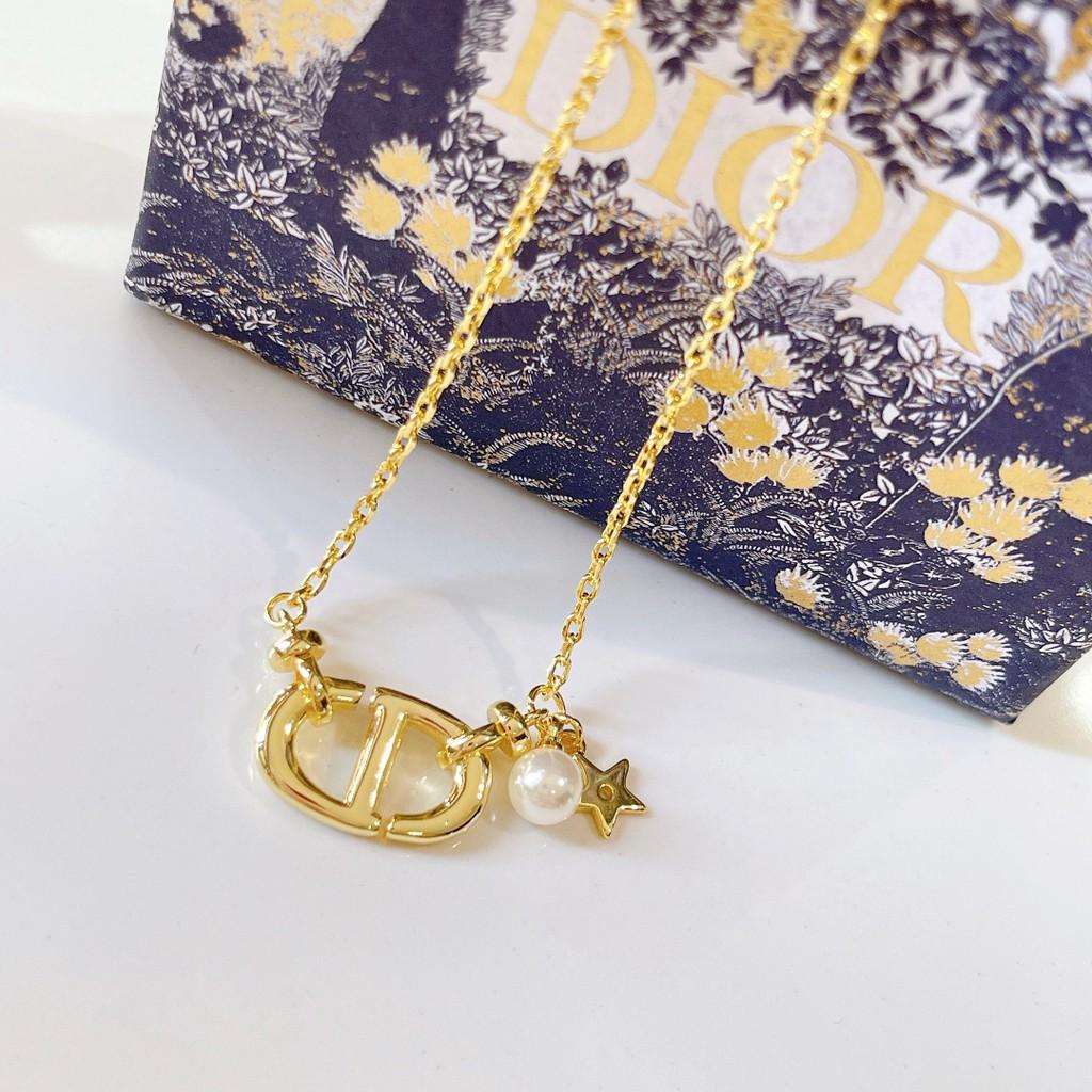 狐眼飾界 Dior 經典字母cd 珍珠 星星 項鏈 項鍊