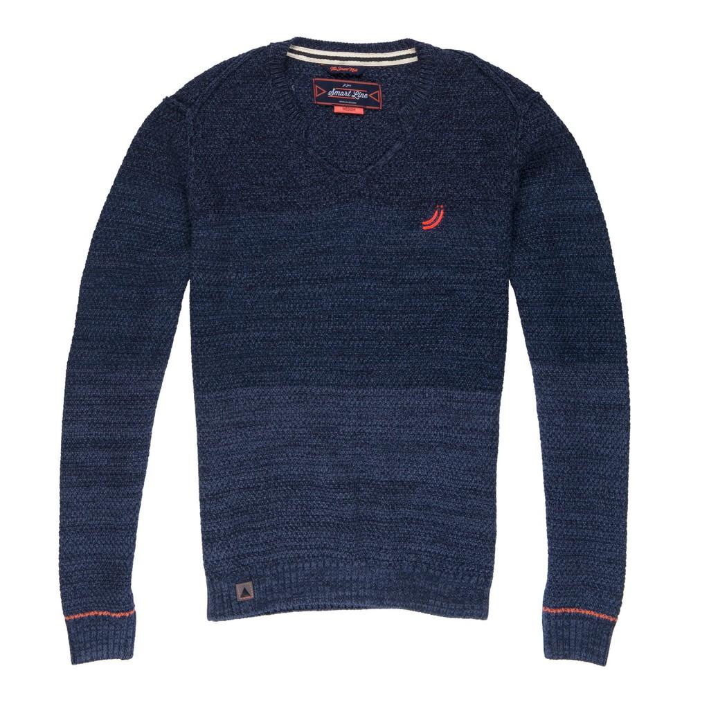 J&Joy 海洋藍針織上衣 J171-M41-01-14