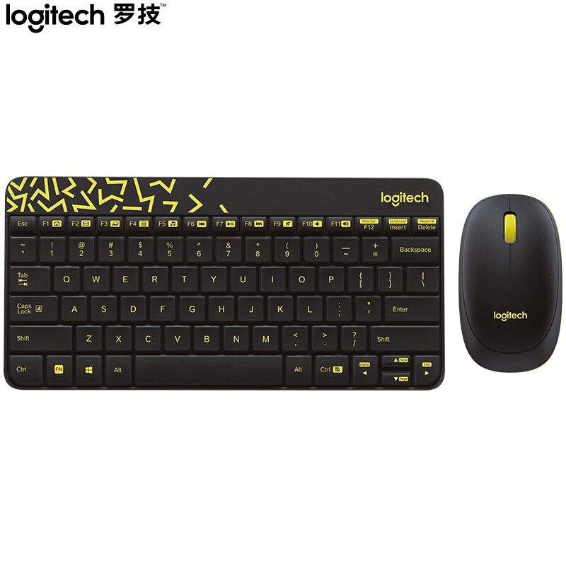 【現貨】羅技(Logitech)MK240 Nano 鍵鼠套裝 無線鍵鼠套裝 辦公鍵鼠套裝 黑色  帶無線2.4G接收器