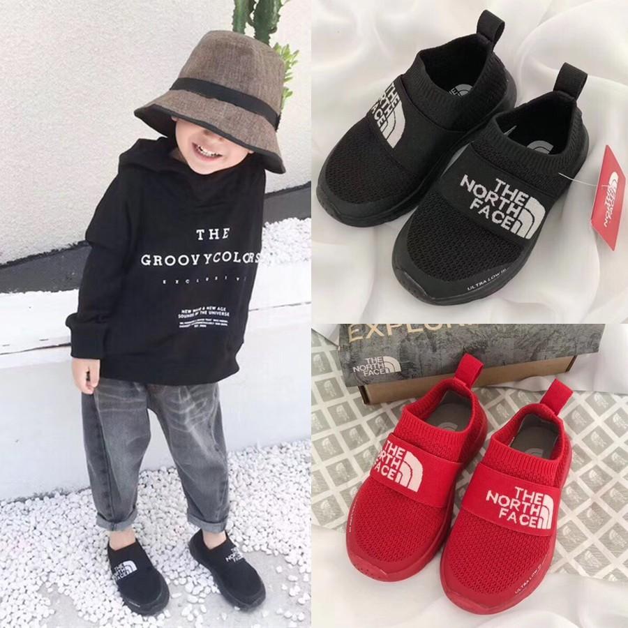 日本代購級 四季可穿 嬰兒鞋 THE NORTH FACE 童鞋 男女童一腳蹬小朋友學步鞋襪子鞋 北臉兒童鞋運動休閒鞋