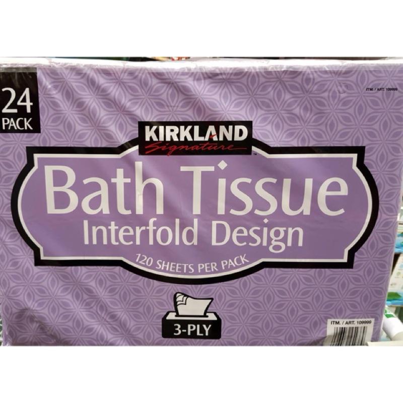 🌸好市多代購🌸(現貨)Kirkland 科克蘭三層抽取衛生紙
