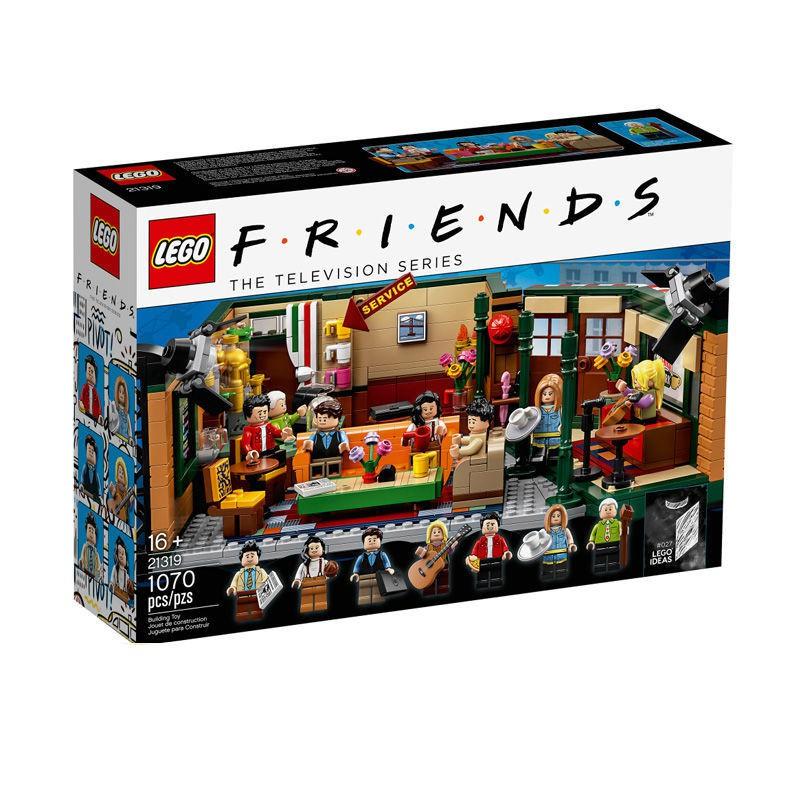 台灣出貨【官方正品 順豐發貨】LEGO樂高 21319老友記 IDEAS系列 拼插積木