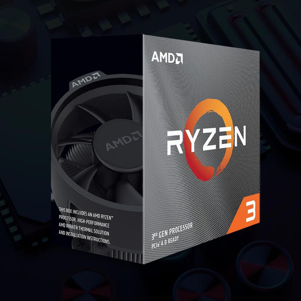 AMD Ryzen3 R3-3300X(台灣公司貨)(稀有現貨可搭主板)