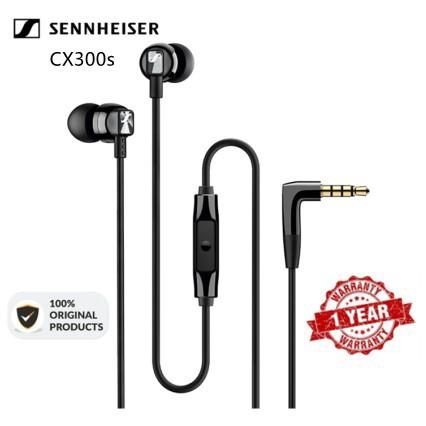 原裝SENNHEISER CX300S入耳式帶有小麥低音炮耳機