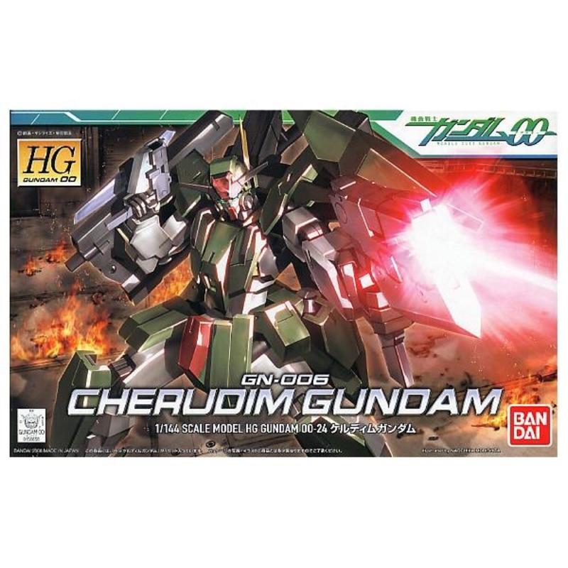 🌟機動戰士00 HG 1/144 #24 智天使鋼彈 CHERUDIM GUNDAM