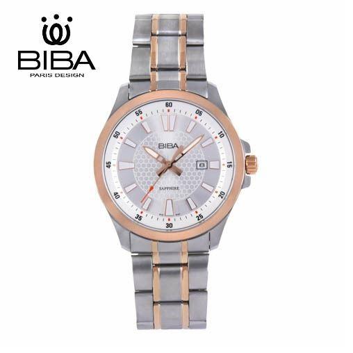 BIBA 碧寶錶 經典系列 藍寶石玻璃 石英錶 B122S101W 白色 - 40mm