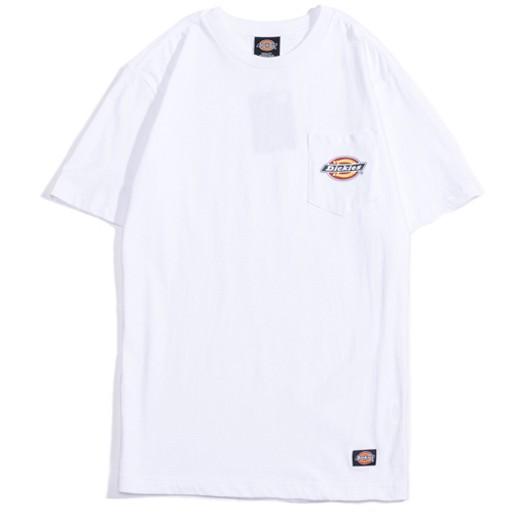 【DICKIES】WDT16140 HORSESHOE LOGO POCKET TEE 口袋 短T (白色)