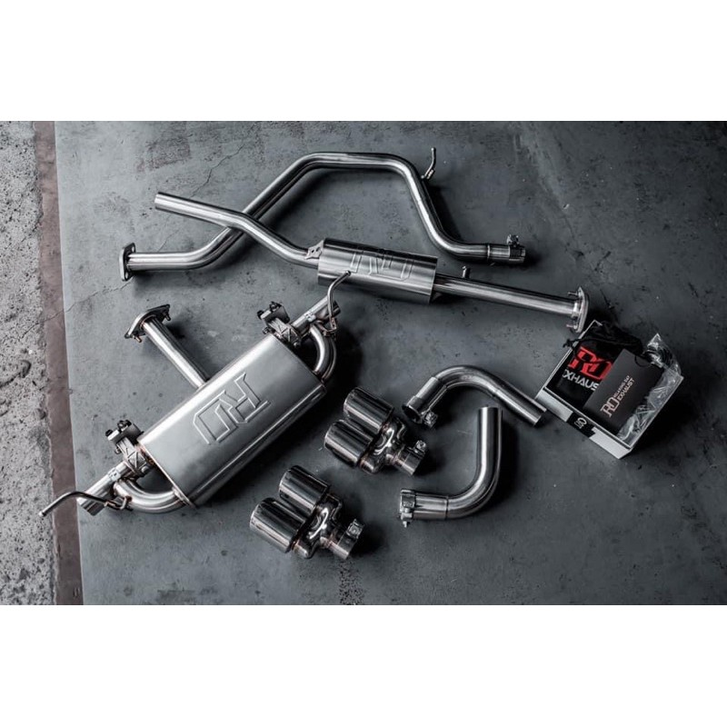 【358un綸碩商行】Focus MK4  RD VVS Performance Exaust 電控閥門中尾段排氣管