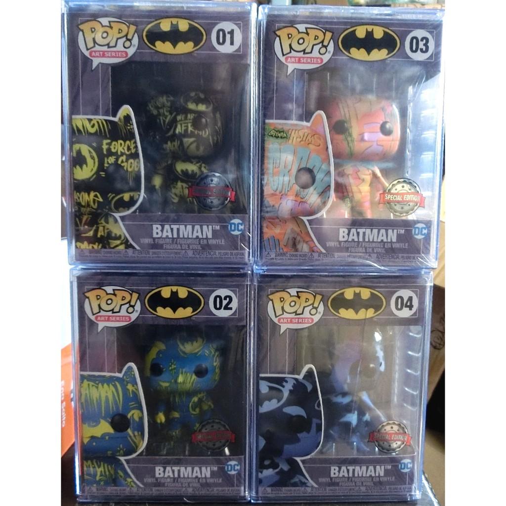 現貨 Funko Pop Batman 蝙蝠俠 藝術家系列 01 02 03 04 4款一套 每隻花色都不一樣隨機出貨