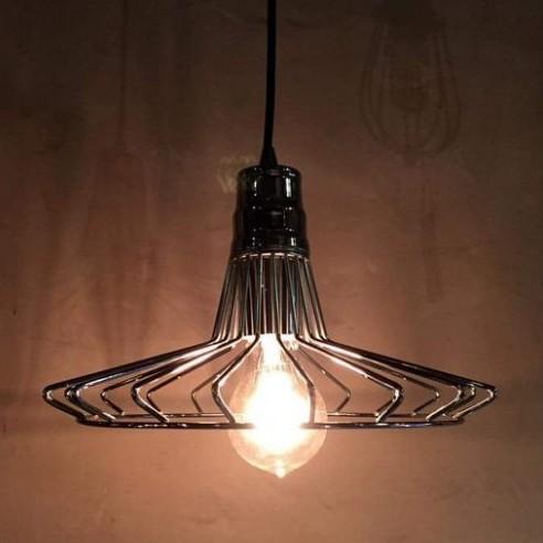 【曙】工業風骨架造型吊燈 氣氛燈 亮面鐵製經典時尚款 loft