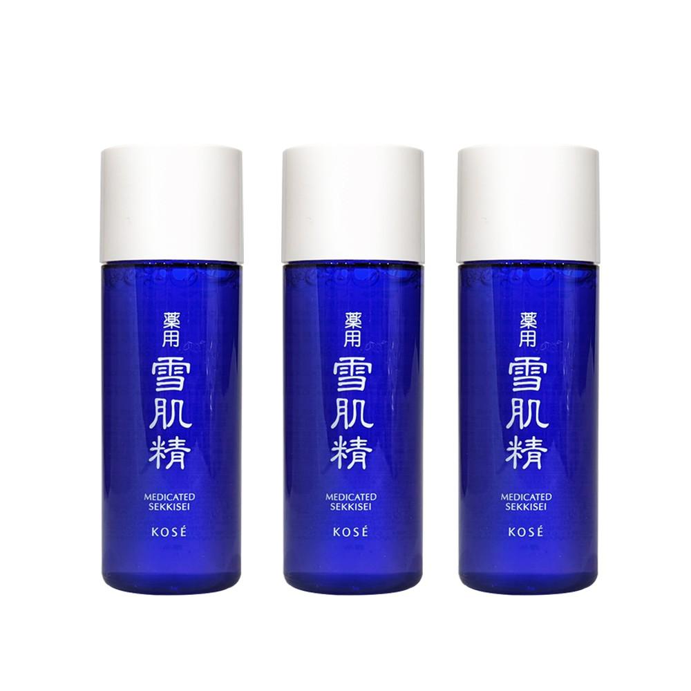 KOSE高絲 雪肌精化妝水33mlx3 廠商直送 現貨