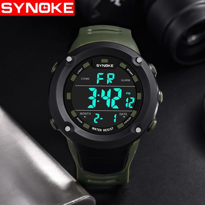 防水男士多功能運動手錶攀爬和跑步電子手錶