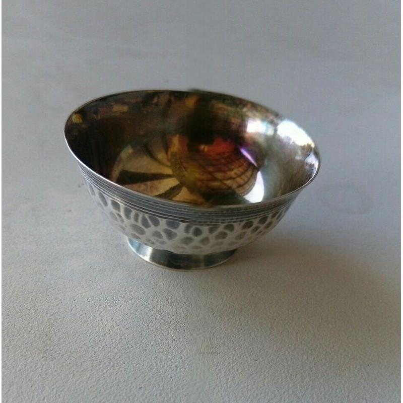 日本早期純銀精緻小銀杯。