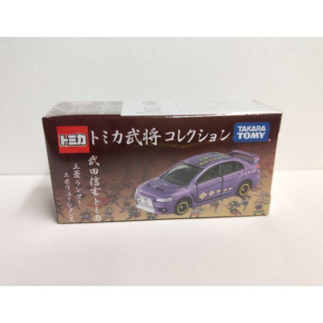 (現貨)Tomica 武將系列 三菱 EVO