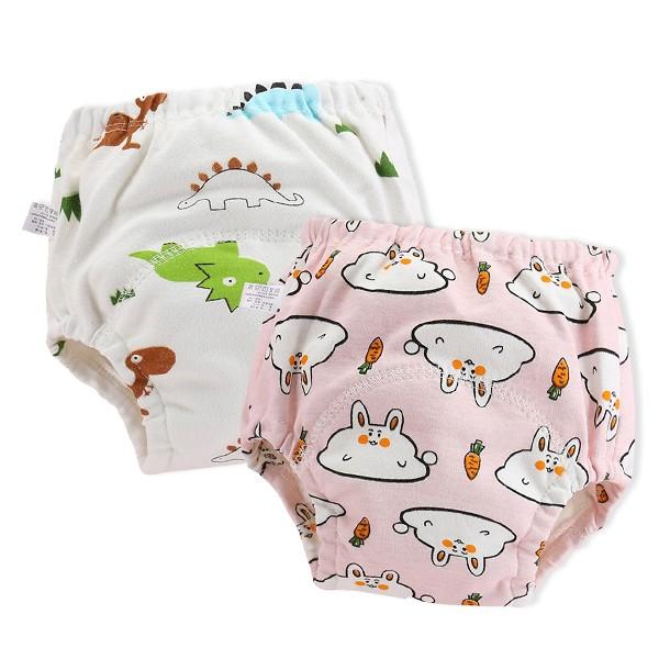 學習褲 6層紗嬰兒尿布褲 吸水隔尿褲訓練褲 雪倫小舖 【PP9765】