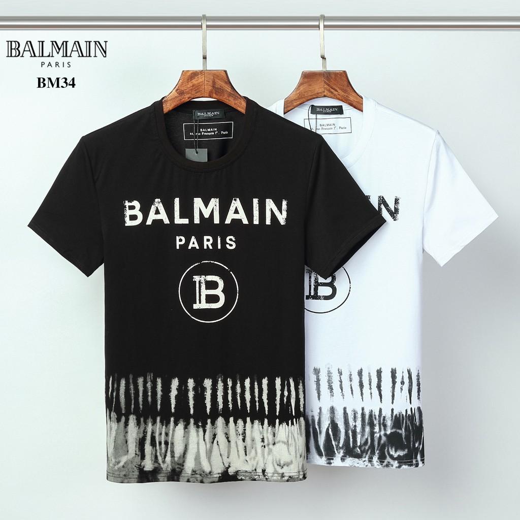 Balmain 巴爾曼 短袖T恤 短袖 男生短t 純棉 圓領T恤 休閒T恤  大尺碼 短袖上衣