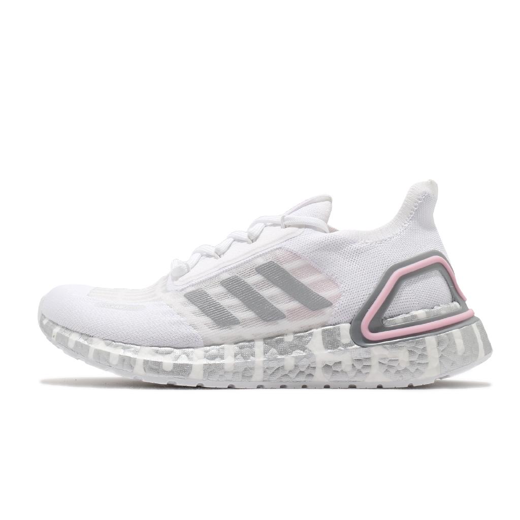 adidas 慢跑鞋 UltraBOOST S.RDY DB 白 灰 貝克漢 愛迪達 男鞋 女鞋【ACS】 FX0576
