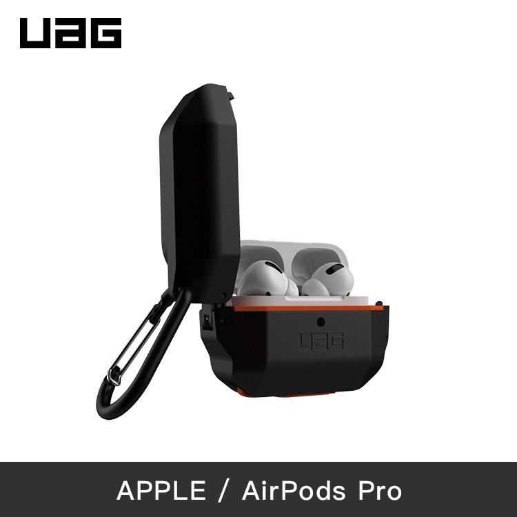 UAG | AirPods Pro | 耐衝擊防水防塵硬式保護殼-黑