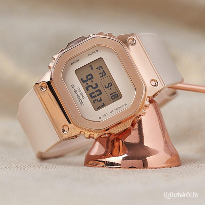 2021開學速遞卡西歐G-SHOCK GM-S5600PG-4/G-7/5600-1/B-1/3 電子運動男腕手錶 xS