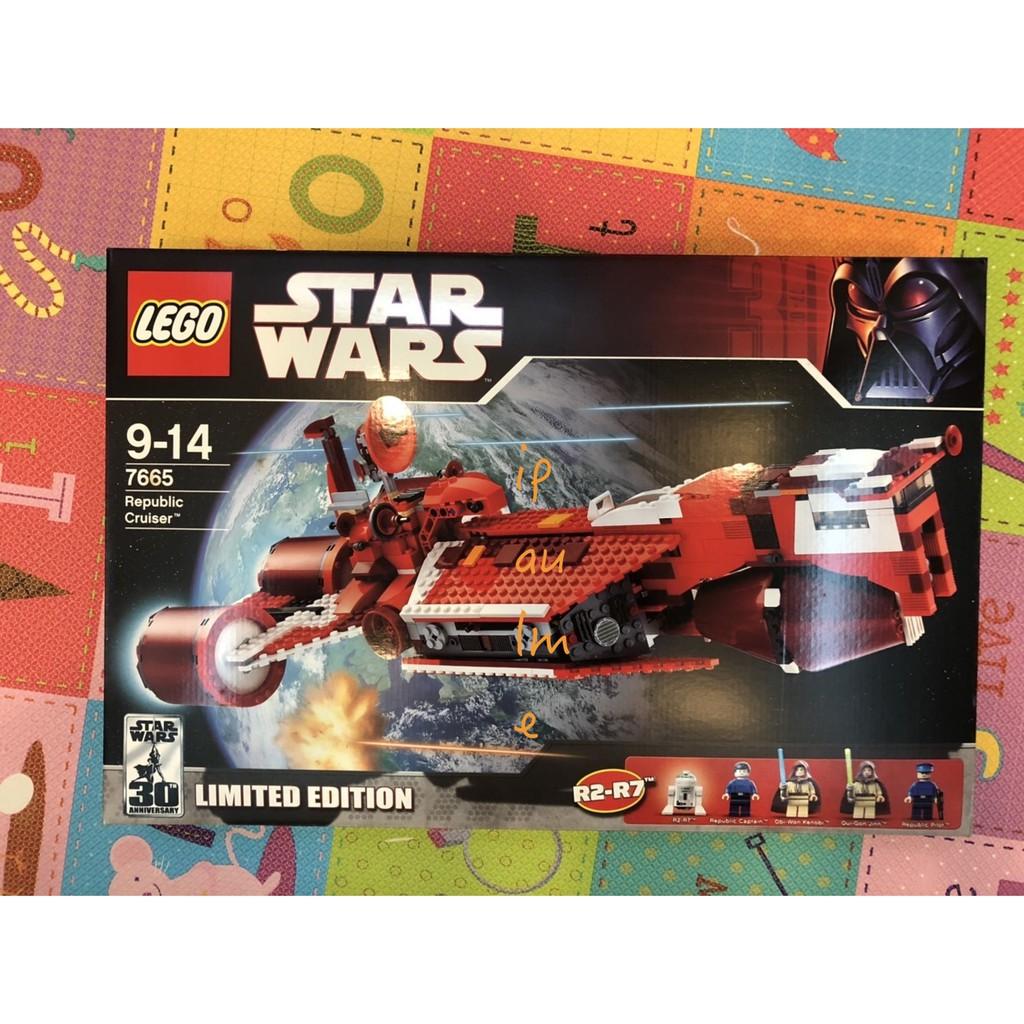 全新未拆 2007 LEGO 樂高 STAR WARS SW 星際大戰 星戰 7665 Republic Cruiser