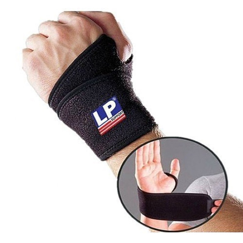 【LP運動護具】護具 護腕 LP 739 單片纏繞式短版護腕套 (1個裝) 護腕套 腕隧道症候群 抑制痛症