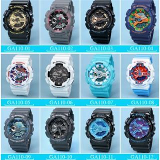 特價 CASIO 卡西歐手錶 G-SHOCK GA-110 黑金 美國隊長 鋼鐵人 情侶手錶 運動潛水錶 附手提袋