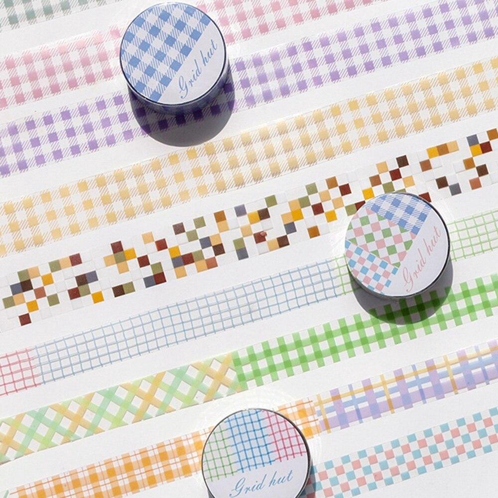1件3M PET格子遮蔽膠帶DIY剪貼簿裝飾