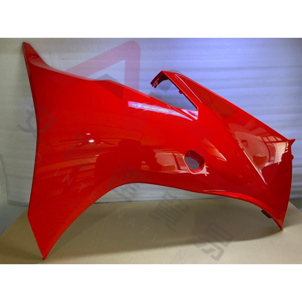 MT機車貿易  GSX-R150 小阿魯 右外側導流罩(紅色)R