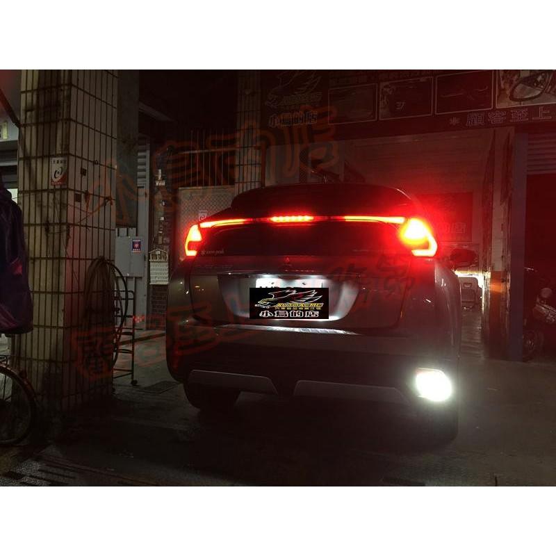 (小鳥的店)三菱 2018-20 Eclipse LED 小魚眼 流氓倒車燈 爆亮款 倒車燈  OUTLANDER
