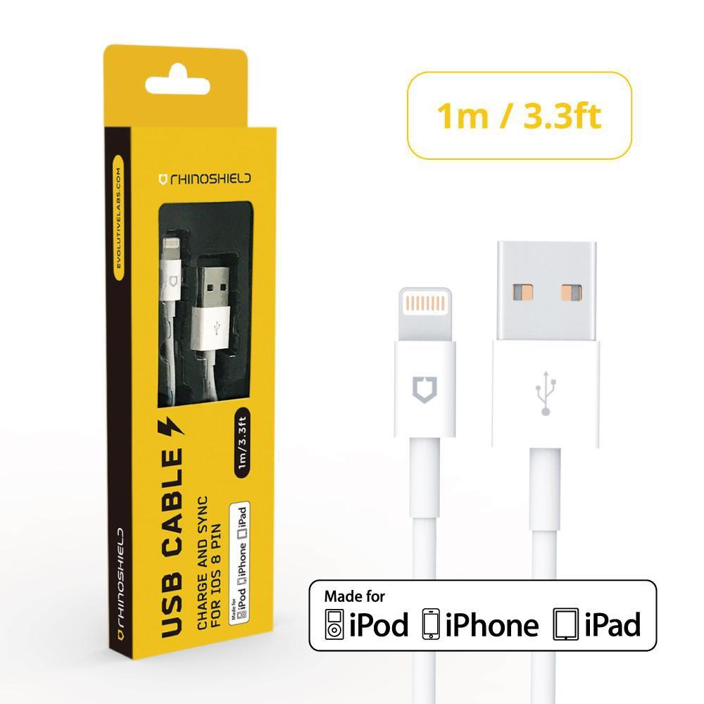 犀牛盾 MFi Lightning to USB Type-A 1M/2M/3M/1.2M 充電線 傳輸線 編織線