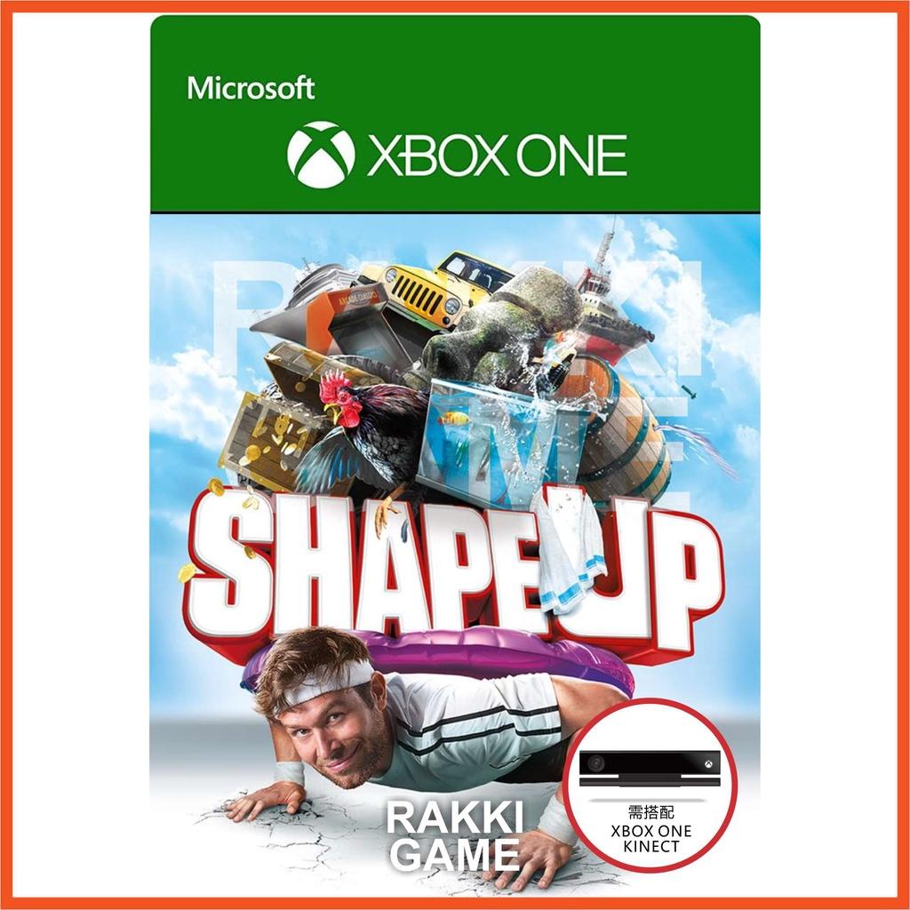 [正版序號] XBOX ONE 體感 健身趣 黃金版 中文 型可塑 kinect Shape Up XBOX遊戲