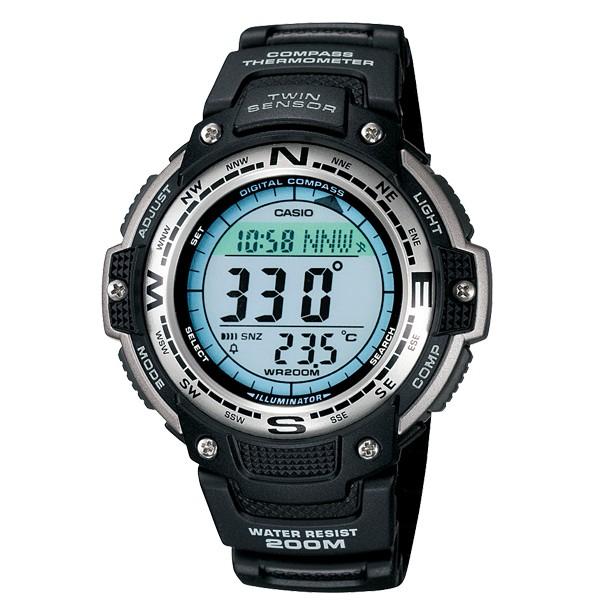 【八度空間】CASIO 卡西歐 登山錶運動多功能手腕錶 SGW-100#SGW-100-1