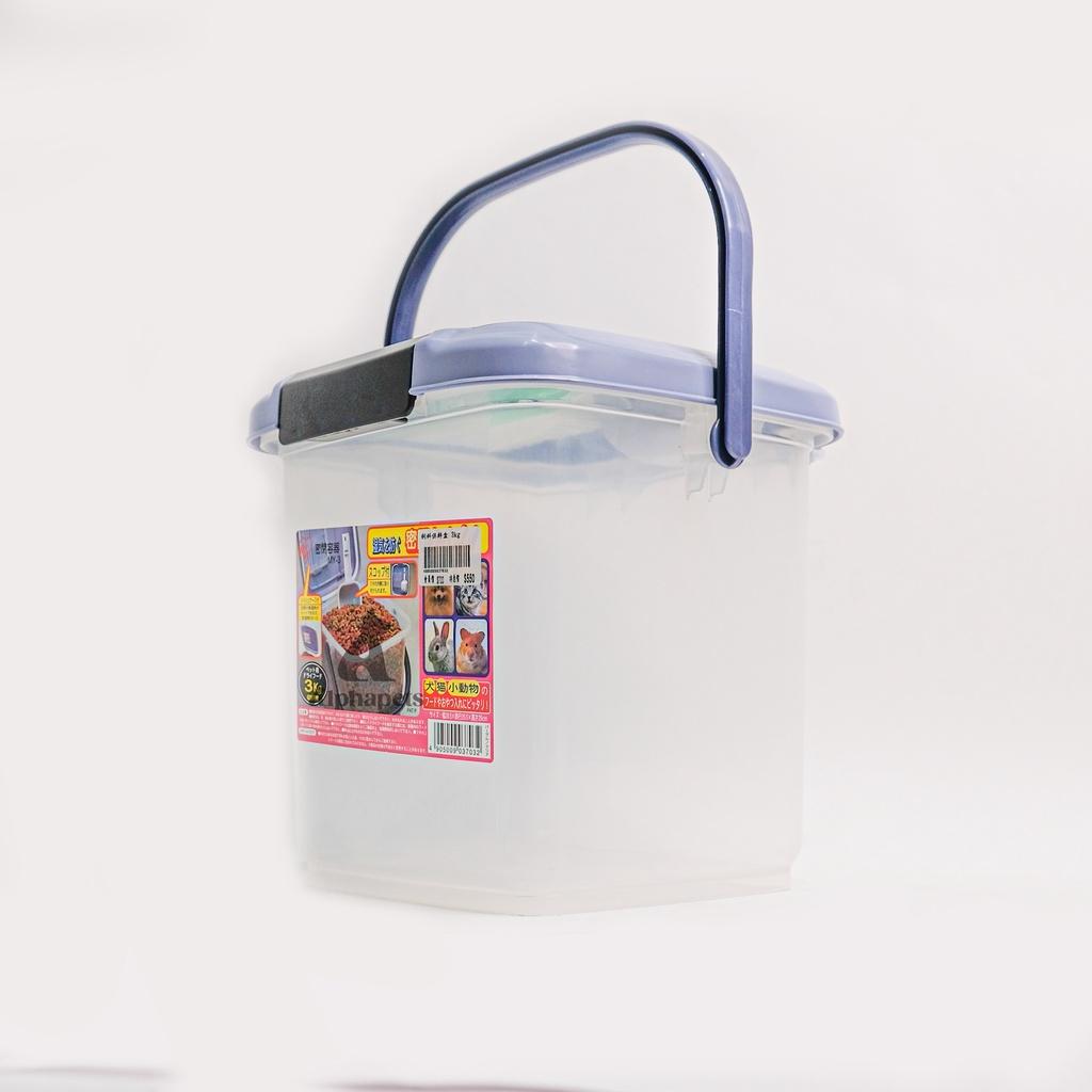 【 日本 IRIS 密封 飼料保鮮盒 IR-MY-3 】  狗 貓 飼料儲存桶 飼料桶 除溼 防潮桶