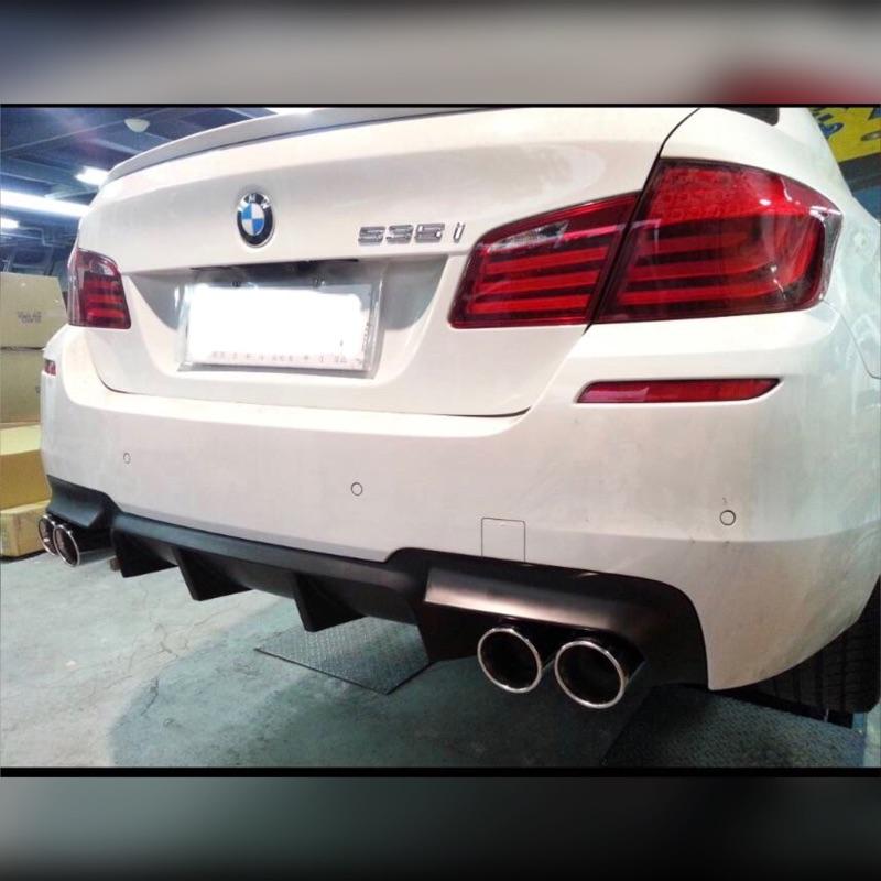 BMW F10/F11 M-TECH/M-SPORT/M5 4出後下巴 大鰭  全新品