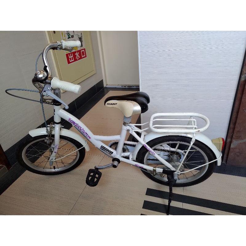 勿下單 保留中二手限台中自取 捷安特 兒童腳踏車 kj165 女生款16吋