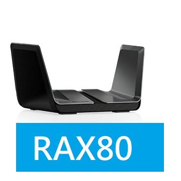 限時瘋殺~聊聊詢價 (附發票/台灣公司貨)   NETGEAR 家用無線WiFi 6 路由器  RAX80