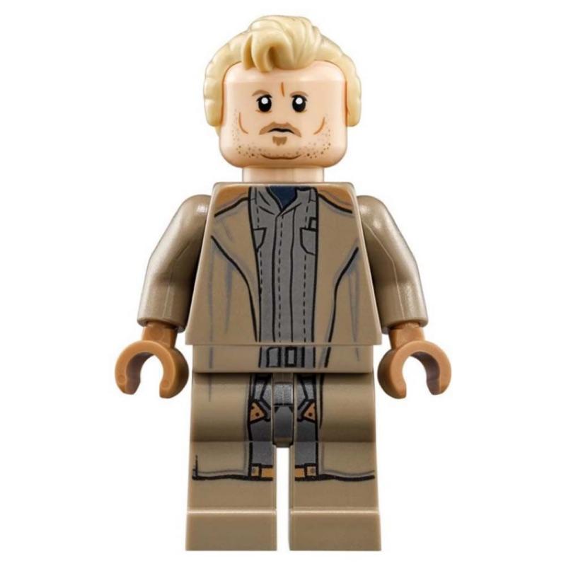 【全新現貨】Star Wars 星際大戰 Lego 樂高 75215 Tobias Beckett 人偶
