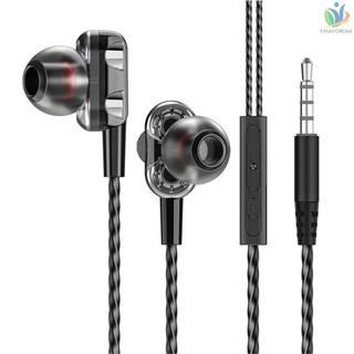 3.5 毫米有線耳機降噪耳塞便攜式入耳式耳機運動耳機與 Ios Android 智能手機 Mp3 播放器兼容