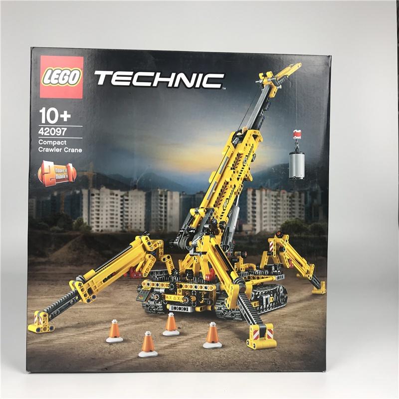 {樂高正品}LEGO樂高機械組42097蜘蛛履帶起重機塑膠積木