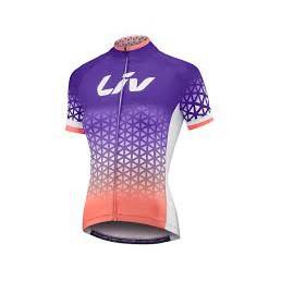 全新 公司貨 捷安特 GIANT Liv BELIV 女性短袖車衣 紫珊瑚紅