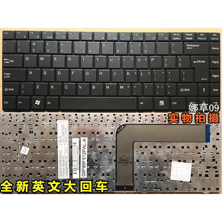 全新英文優派ViewSonic VS14363 VNB148B 筆記本鍵盤