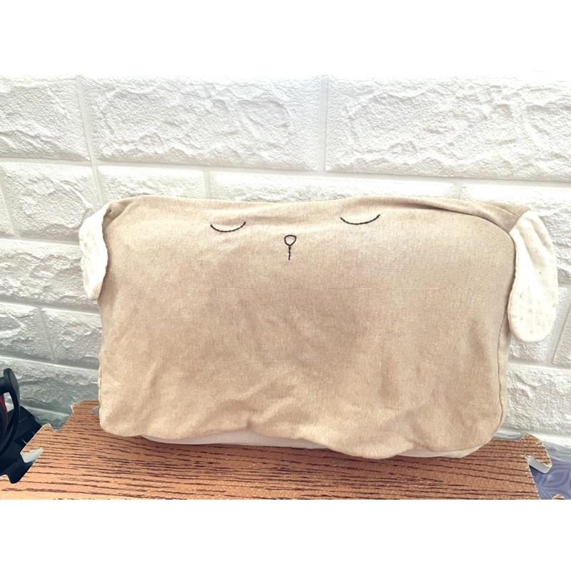 Lulu's Shop🌻 Cani 嬰兒護頭枕 頭心枕 透氣枕 嬰兒枕 生活有機棉 小狗款 (二手)