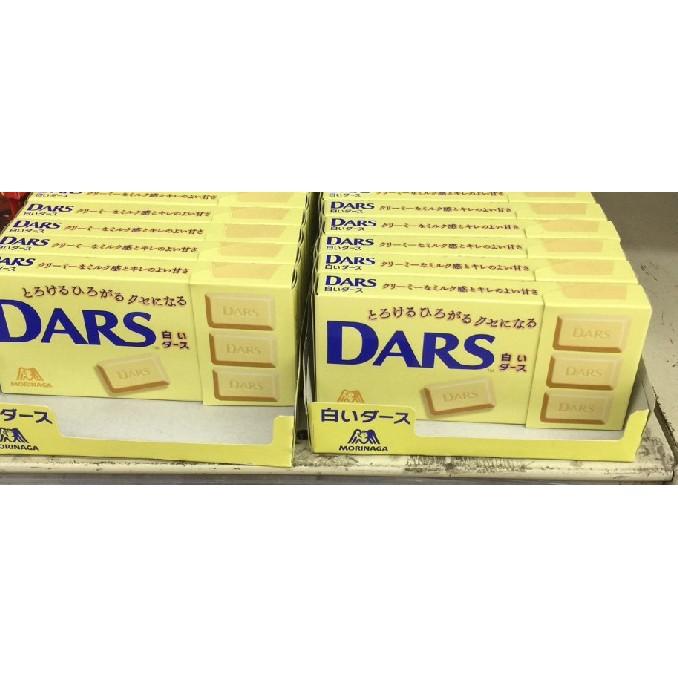 白色情人節 白巧克力 DARS 達司 巧克力 預訂中 MORINARA森永的旗下品牌