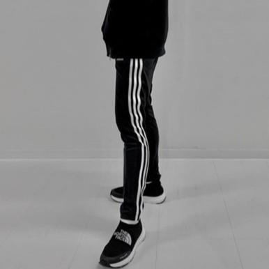 adidas m mh 3st tp2 男款 棉質 合身 戶外 運動 休閒 運動褲 fk6884